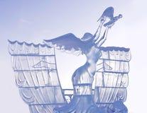 Ella release/versión una paloma Fotografía de archivo