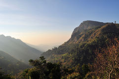 Ella Rock em Sri Lanka fotos de stock