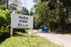 Ella, Sri Lanka Stock Image