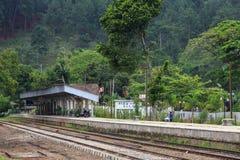 Ella station - Sri Lanka royaltyfri fotografi