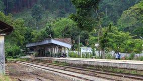 Ella station - Sri Lanka royaltyfria foton
