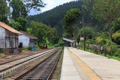 Ella station - Sri Lanka arkivbild