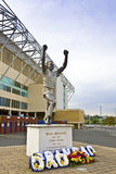 Elland Road stadium in Leeds, West Yorkshire. Royalty Free Stock Image
