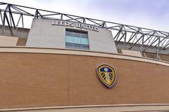 Elland vägstadion i Leeds som är västra - yorkshire Arkivbild