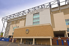 Elland vägstadion i Leeds som är västra - yorkshire Royaltyfri Fotografi