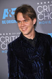 Ellar Coltrane. LOS ANGELES, CA - JANUARY 15, 2015: Ellar Coltrane at the 20th Annual Critics' Choice Movie Awards at the Hollywood Palladium Royalty Free Stock Photos