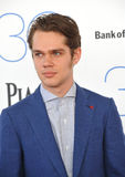 Ellar Coltrane. SANTA MONICA, CA - FEBRUARY 21, 2015: Ellar Coltrane at the 30th Annual Film Independent Spirit Awards on the beach in Santa Monica Stock Photo