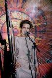 Нellawes, Russian folk singer Stock Image