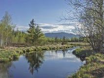 Ellbach amarra en la primavera Imágenes de archivo libres de regalías