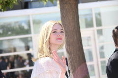 Elle Fanning. Attends Demon' photocall during the 69th annual Cannes Film Festival at Palais des Festivals on May 20, 2016 in Cannes, France Stock Photos