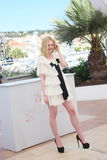 Elle Fanning. Attends the 'The Neon Demon' photocall during the 69th annual Cannes Film Festival at Palais des Festivals on May 20, 2016 in Cannes, France Royalty Free Stock Image