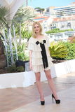 Elle Fanning. Attends the 'The Neon Demon' photocall during the 69th annual Cannes Film Festival at Palais des Festivals on May 20, 2016 in Cannes, France Stock Images