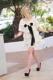 Elle Fanning. Attends the 'The Neon Demon' photocall during the 69th annual Cannes Film Festival at Palais des Festivals on May 20, 2016 in Cannes, France Royalty Free Stock Photos