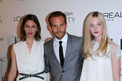Elle Fanning,Four Seasons,Sofia Coppola,Stephen Dorff Royalty Free Stock Photo