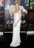 Elle Fanning. At the Los Angeles premiere of `Live By Night` held at the TCL Chinese Theatre in Hollywood, USA on January 9, 2017 Royalty Free Stock Photos