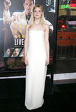 Elle Fanning. At the Los Angeles premiere of `Live By Night` held at the TCL Chinese Theatre in Hollywood, USA on January 9, 2017 Stock Image