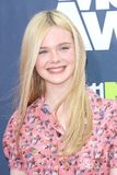Elle Fanning Stock Photo