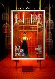 Elle hong kong 30th anniversary display at madame tussauds in hong kong royalty free stock photography