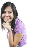 Elle sourient 22 Images libres de droits