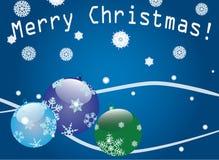 Ellegant blue christmas background Royalty Free Stock Photo
