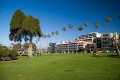 Ellen Browning Park. In La Jolla, California royalty free stock photo