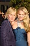 Ellen De Generes, Portia DE Rossi royalty-vrije stock foto