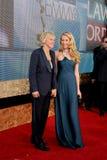 Ellen De Generes, Portia De Rossi lizenzfreie stockfotos
