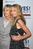 Ellen De Generes,Portia De Rossi Stock Images