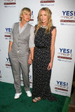 Ellen De Generes,Portia De Rossi Royalty Free Stock Image