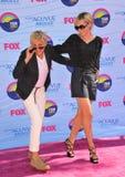 Ellen Degeneres,Portia De Rossi Stock Image