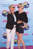 Ellen Degeneres,Portia De Rossi Royalty Free Stock Photo