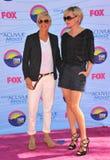 Ellen Degeneres,Portia De Rossi Royalty Free Stock Photography