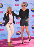 Ellen Degeneres,Portia De Rossi Royalty Free Stock Image
