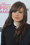 Ellen Page. At the 2013 Film Independent Spirit Awards on the beach in Santa Monica. February 23, 2013 Santa Monica, CA Picture: Paul Smith / Featureflash royalty free stock image