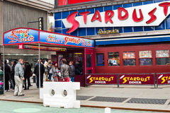 Ellen's Stardust Diner Times Square Stock Images