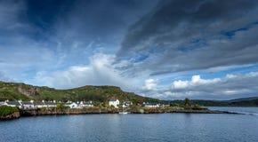 Ellenabeich Skottland Västkusten Royaltyfria Bilder