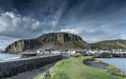 Ellenabeich västkusten av Skottland Royaltyfri Foto