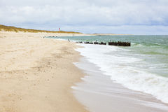 Ellenbogen beach, North Sea island of Sylt Stock Image