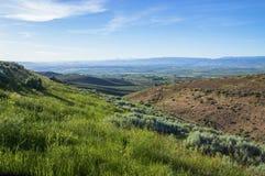 Ellensburg hills. At Yakima Valley, State Washington Royalty Free Stock Photos