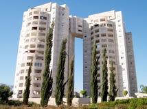 Eller Yehuda Neve Rabin Cypresses 2010 royaltyfri foto
