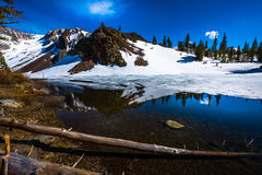 Ellery Lake near Tioga Pass California USA Stock Image