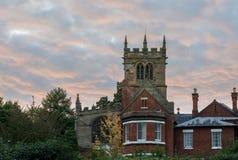 Ellesmere Shropshire Parish Church tower Stock Images