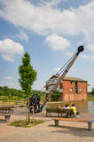 Ellesmere wharf. In a sunny day stock photo
