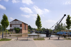 Ellesmere wharf. In a sunny day royalty free stock photo