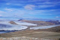 Ellesmere wyspy strumień Obraz Royalty Free