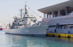 Elli class frigate F-462  Royalty Free Stock Photos