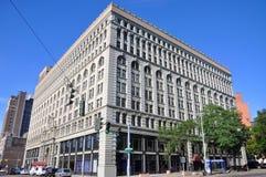 Ellicott Kwadratowy budynek, bizon, Nowy Jork, usa Obraz Stock