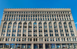 Ellicott Square Building, a historic office complex, completed in 1896. Buffalo - New York Royalty Free Stock Photography