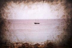 Ellie Beach que es la playa más cercana a Rhodes Town y es popular entre los locals y los turistas igualmente fotografía de archivo
