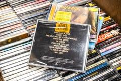 Ellie Goulding-CD het album steekt 2010 op vertoning voor verkoop, beroemde Engelse zanger en songwriter aan royalty-vrije stock foto